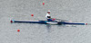 Nathalie Benoit of France wins her single scull repechage event