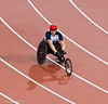 David Weir's understated victory lap