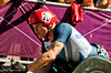 David Weir of Great Britain wins the Marathon T54 Gold Medal on 9 September 2012