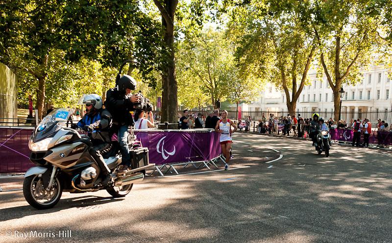 Alberto Suarez Laso wins Gold in the Men's Marathon T12.