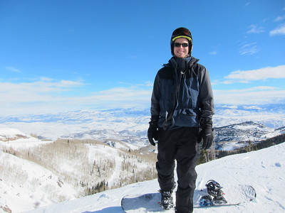 Day 2: back to Park City for more.  Weather was sunny, but slightly windy and the snow was not quite as good as prior day