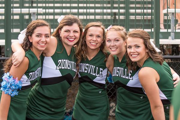2016-2017 Zionsville Cheer