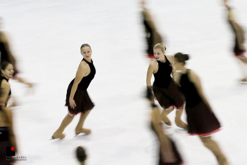 Neuchâtel trophy 2013, entraînement programme court