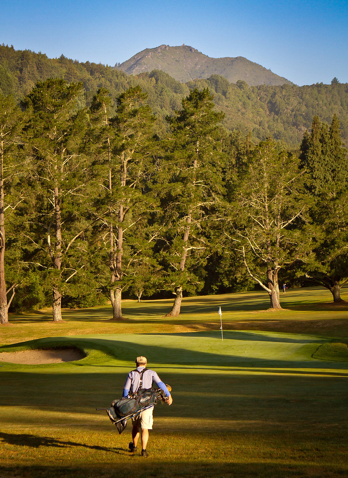 Patrick Mundy plays Mill Valley Golf Course in Mill Valley, Calif., on Thursday, June 14th, 2012.