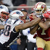 Patriots 49ers Football