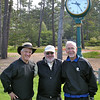 George, Les and Bob after hitting some warm up balls