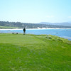 Looking from the 7th green towards Carmel