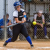 Peniel's Kristen Flateau connects with one against Christ's Church en route to a 12-2 victory and advancing to the next level. Fran Ruchalski/Palatka Daily News