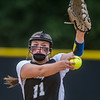Peniel pitcher Paige Bryan fires one in against Christ's Church en route to a 12-2 victory and advancing to the next level. Fran Ruchalski/Palatka Daily News