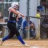 Peniel's Lexi White connects with one against Christ's Church en route to a 12-2 victory and advancing to the next level. Fran Ruchalski/Palatka Daily News