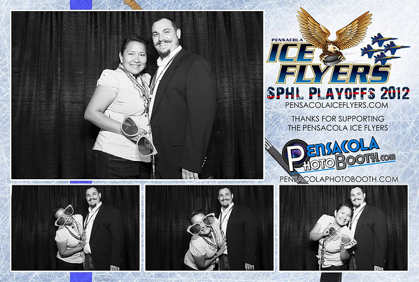 Pensacola Ice Flyers Hockey Playoff Game 4-7-12