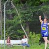 A Pentathlon was held at Lunenburg High School on Monday. Lunenburgs junior Sam Day competes in the disces. SENTINEL & ENTERPRISE/JOHN LOVE