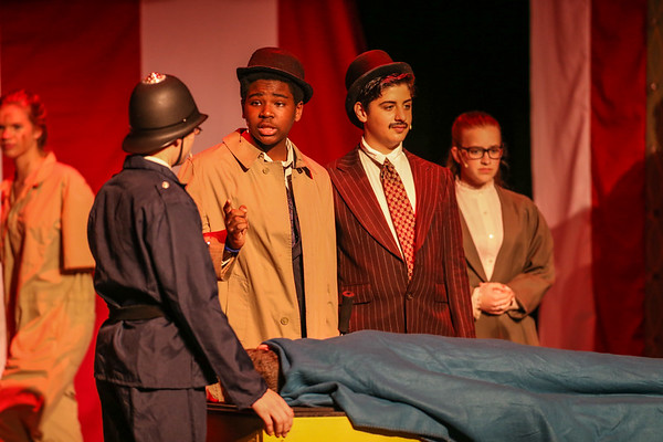 """Baker Street Irregulars, Middle School Play 2/2018"