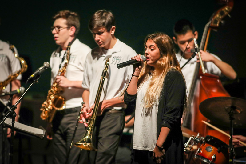 Upper School Band Holiday Concert, 2017