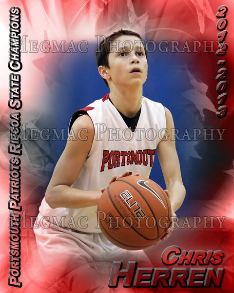 Boys Basketball Poster