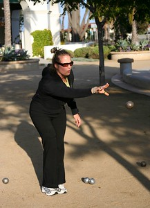 Michelle in action (May 2005)