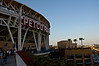 Stadium Petco Park sign