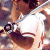 A Pete Rose is adjuting batting hat img118