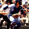 KC Catcher goes after fowl ball img129