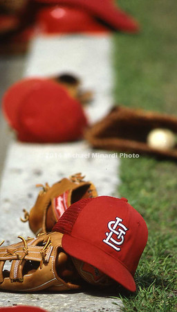 Bench of St  Louis Cardinals img134