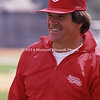 Pete Rose in red jacket smiles img104