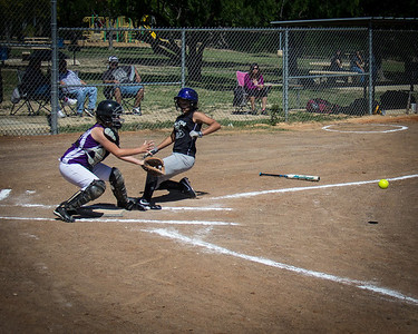 Alina scores in the first inning