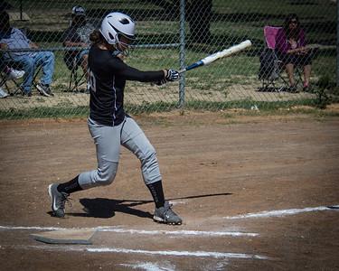 Mackenzie takes a big swing