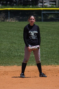 McKenna at second base