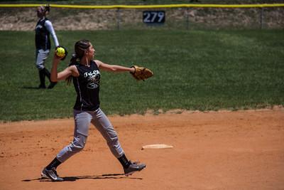 Mackenzie covering shortstop