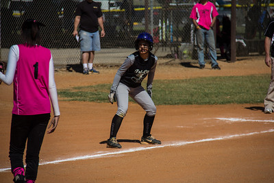 Alina eyes home plate after another wild pitch