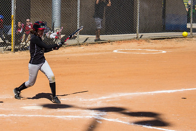 McKenna hits a single in the second inning
