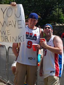 you wave, we drink