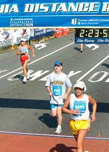 Philadelphia Distance Run - September 2005