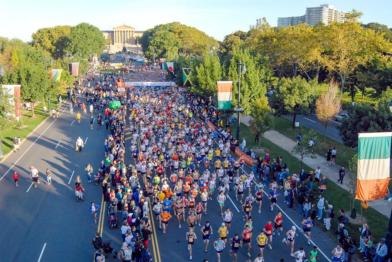 Philadelphia Distance Run - September 2009