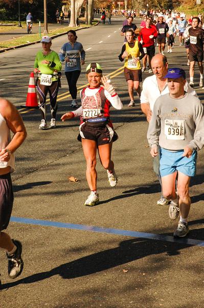 Crossing chip sensor, Philadelphia Marathon - November 2005