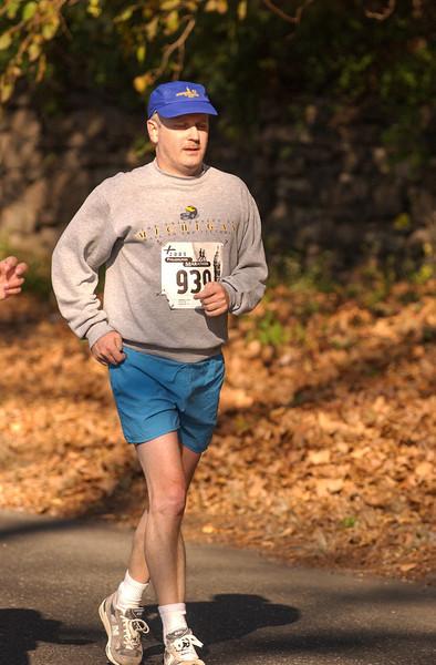 Feeling the pain, Philadelphia Marathon - November 2005