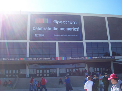 The Spectrum.  It will be leveled soon.  It will be missed.
