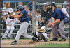 In this image the batters head is down (ball has passed the plate) Catcher snags the pitch with eyes closed, Umpire has eyes shut tight...<br /> Wow, appears not even the fans are watching the ball!<br /> Makes ya think about what we see, or don't... or think we did, but didn't?<br /> <br /> Questions or Comments email: Bob@ramspics.net or ram1958@sbcglobal.net<br /> *** The comment tab (lower left) is activated, so let me know your thoughts!