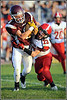 Potterville Vikings vs Bellevue Broncos, August 2012.