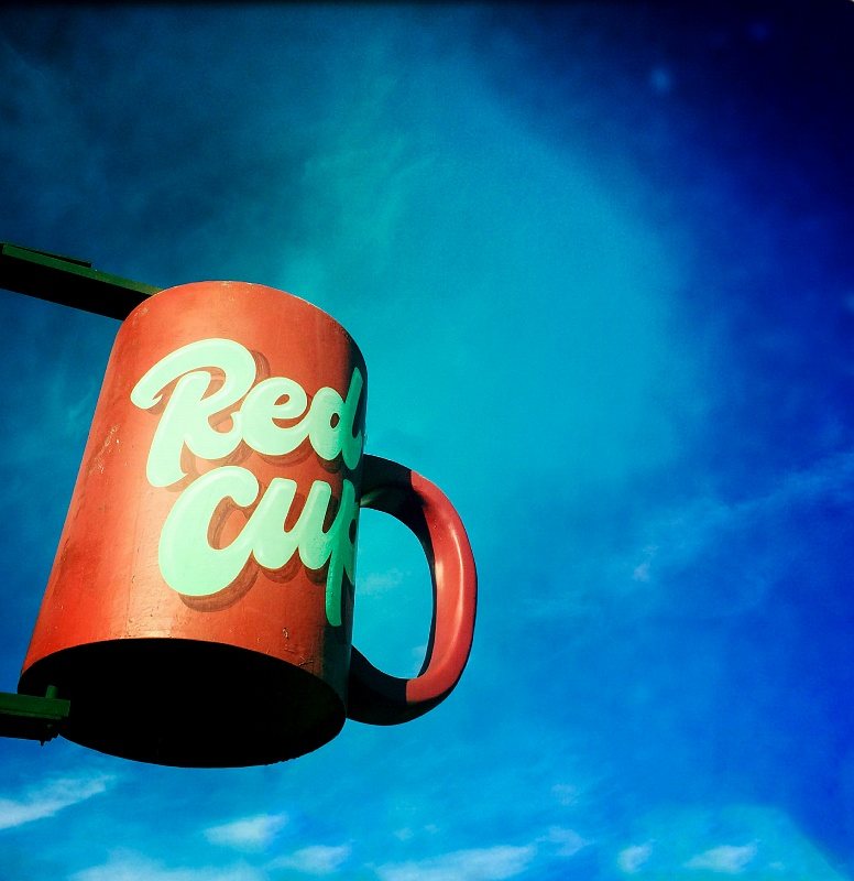 15 Oct 2014: Red Cup Espresso in West Seattle