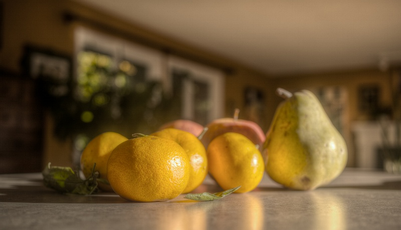 16 Nov 2014: Some heavily processed tangerines
