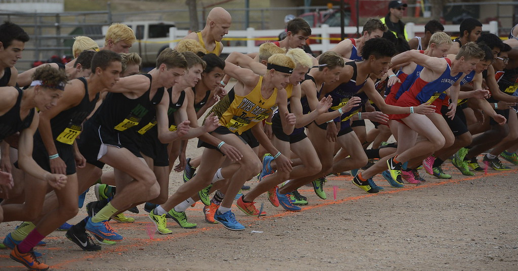 . The 4A boys state cross country championship begins on Saturday in Colorado Springs.