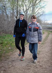 Emily with pacer Nikolai.