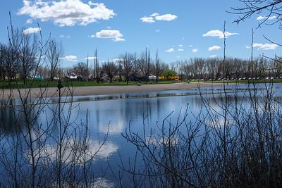 On Pickled Feet pond.