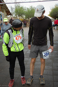 Tony (Tempus Photo) and I compare leg length.  Photo:  Dondi