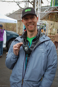 Erik gets his own radio to keep appraised of zombies.  Photo:  Dondi