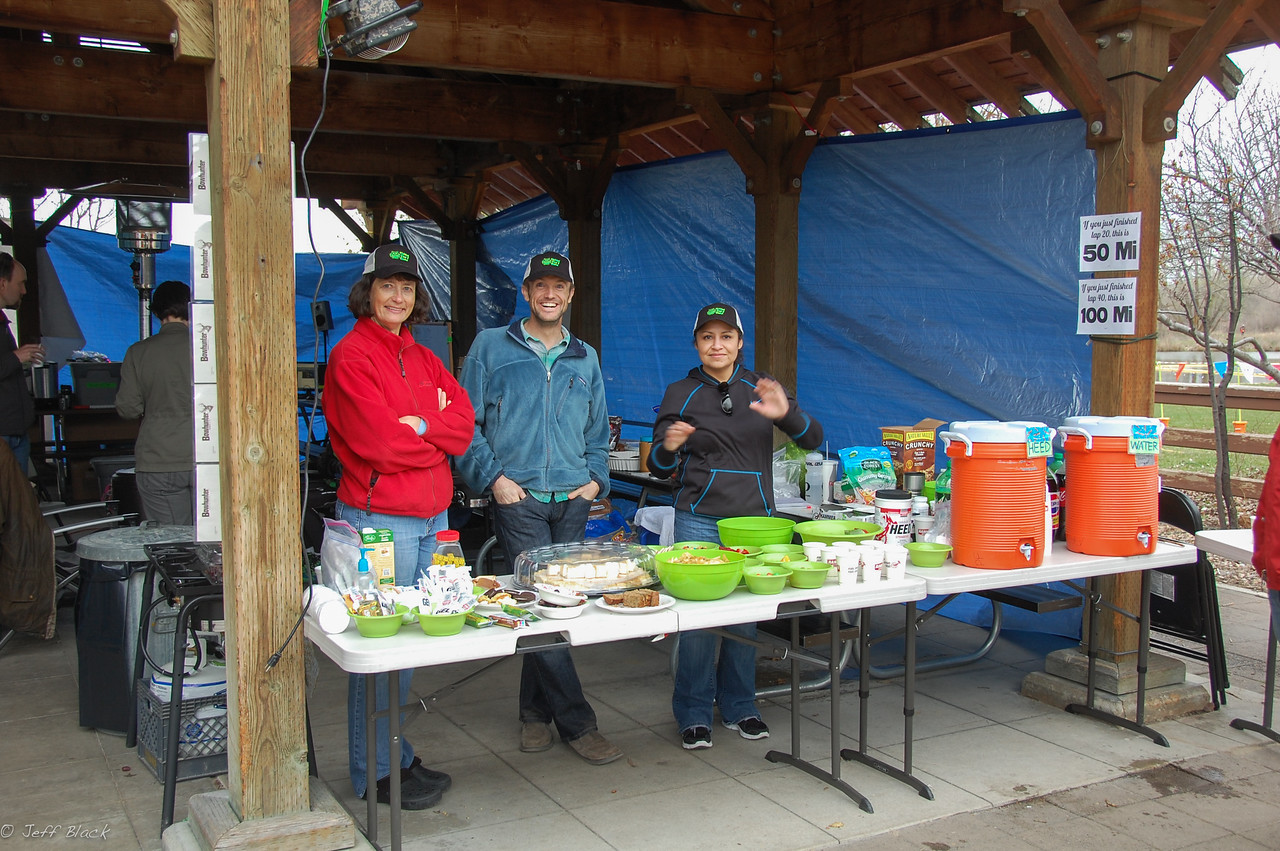 PF aid station just before 24 hour started.