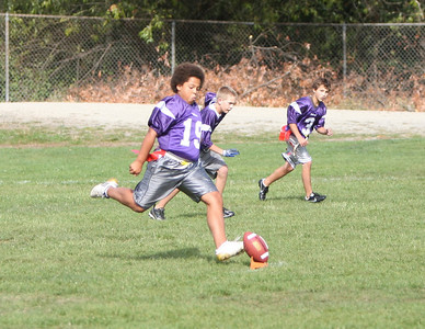 Piedmont 7th grade flag football
