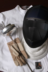 Fencing Equipment Still Life
