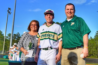 2018 Pinecrest Baseball Senior Night